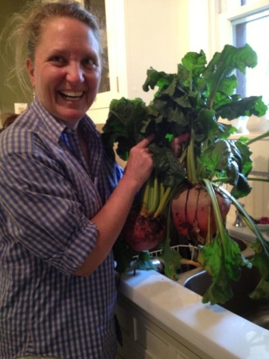Beets as big as your head!